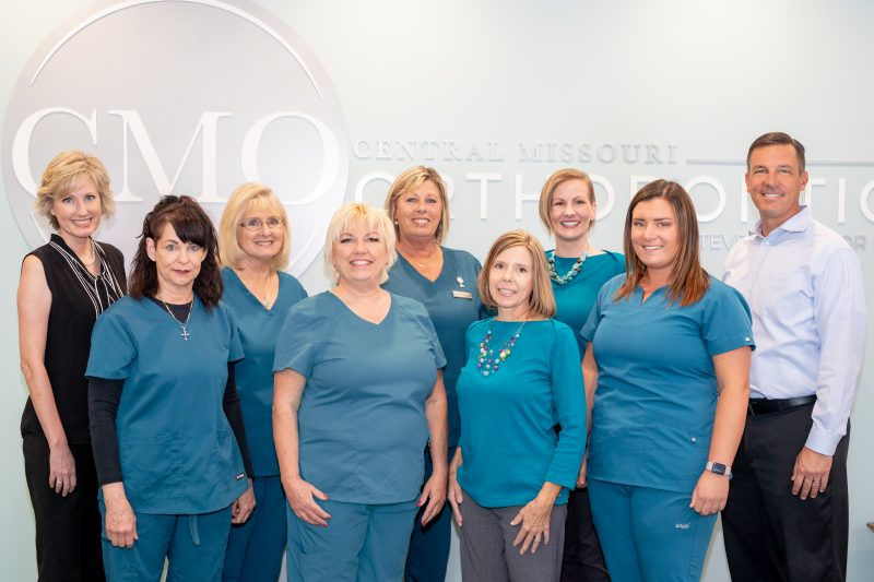 central missouri orthodontics about us team picture