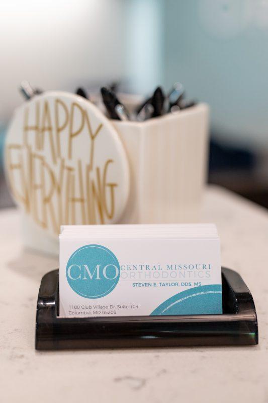 FAQ's central missouri orthodontics business card